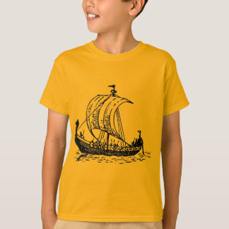 Viking-Schiff T-Shirt