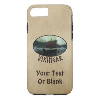 Viking-Schiff und Nordlichter iPhone 8/7 Hülle