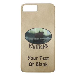 Viking-Schiff und Nordlichter iPhone 8 Plus/7 Plus Hülle