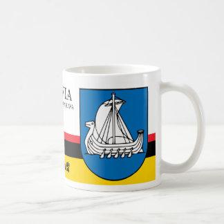 Viking-Schiffs-Schild von Kraslava Lettland Kaffeetasse