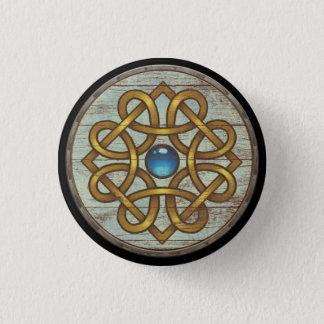 Viking-Schild-Knopf - Brosche Runder Button 2,5 Cm