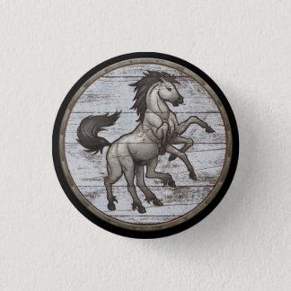 Viking-Schild-Knopf - Sleipnir Runder Button 2,5 Cm