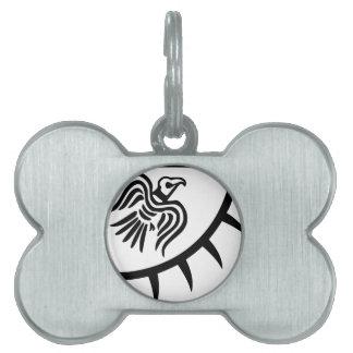 Viking-Schwarz-Raben-Fahne Tiermarke