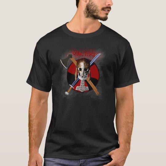 VIKING – Shield Skull T-Shirt