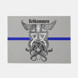 Viking verdünnen Blue Line Türmatte