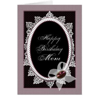 Viktorianische alles- Gute zum Geburtstagmamma Grußkarte