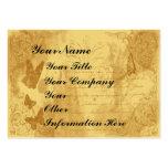 Viktorianische Artgeschäfts-Visitenkarteschablone