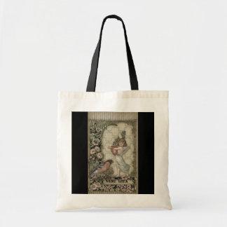 Viktorianische Collagen-Taschen-Tasche