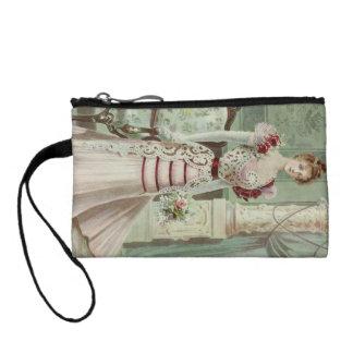 Viktorianische Dame-Vintage französische Mode -
