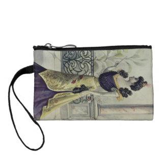 Viktorianische Dame - Vintage französische Mode -