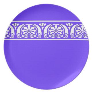 Viktorianische dekorative Platte Party Teller