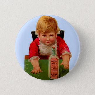 Viktorianische Geschäftskarte: Scotts Runder Button 5,7 Cm