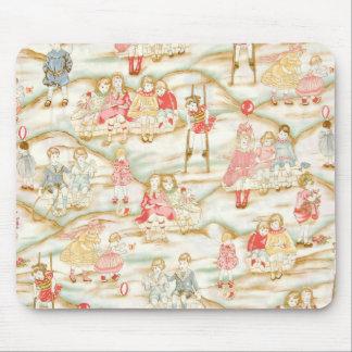 Viktorianische Kinder am Spiel Mousepad