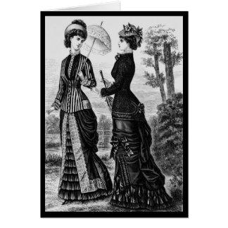 viktorianische kleidung gru karten einladungen. Black Bedroom Furniture Sets. Home Design Ideas