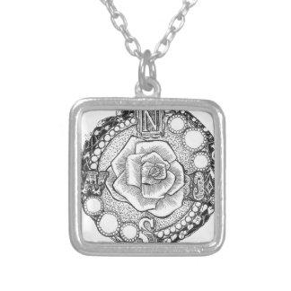 Viktorianische Kompass-Rose Selbst Gestaltete Halskette