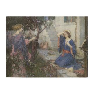 Viktorianische Kunst, Ankündigung durch JW Holzleinwand