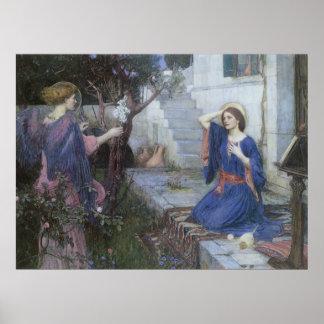 Viktorianische Kunst, Ankündigung durch JW Poster