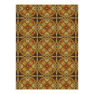 Viktorianische Kunst Nouveau mittelalterliches Einladungskarten