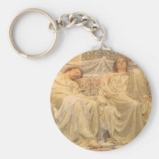 Viktorianische Kunst, Träumer durch Albert Joseph Schlüsselanhänger