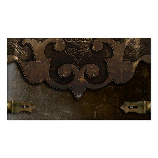 Viktorianische Steampunk berufliche Visitenkarte