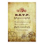 Viktorianische Steampunk UAWG Karte mit Umschlägen 8,9 X 12,7 Cm Einladungskarte