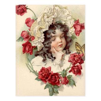 Viktorianische Süsse Postkarte