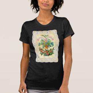 Viktorianische Weihnachtskarte T-Shirt