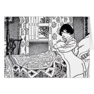 Viktorianischer Bedtime Karte