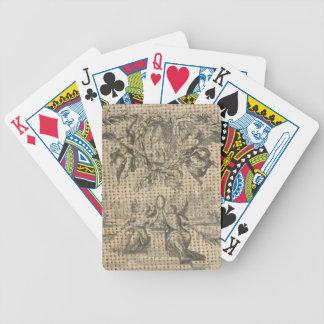 viktorianischer Engel des Vintagen Himmels der Bicycle Spielkarten
