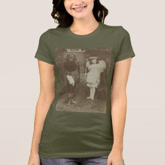 Viktorianischer Fee- und Wolf-T - Shirt