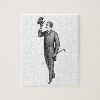 Viktorianischer Herr Selfie Puzzle