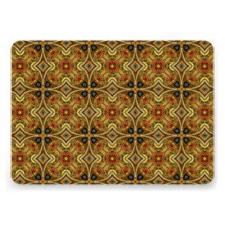 Viktorianischer Kunst-Deko-mittelalterlicher Individuelle Ankündigungskarte