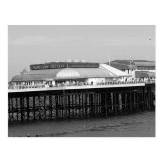 """""""Viktorianischer Pier """" Postkarte"""