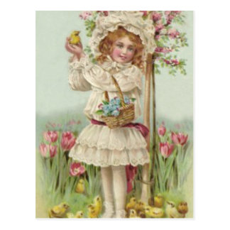 Viktorianischer Postkarte