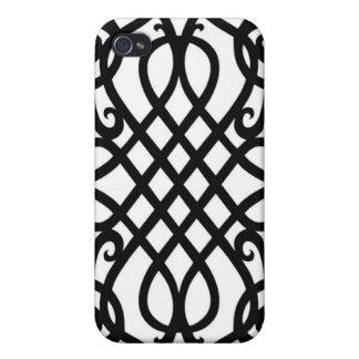 Viktorianischer Speck-Kasten iPhone 4 Hülle
