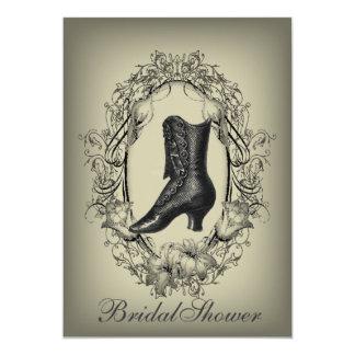 Viktorianisches Brautparty des gotischen Vintagen Karte