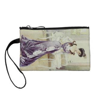 Viktorianisches Dame-Vintages französisches