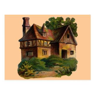 Viktorianisches haus postkarten for Viktorianisches haus
