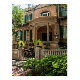 Viktorianisches historisches Haus 2 Postkarte