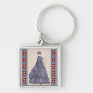 Viktorianisches Kleid Schlüsselanhänger