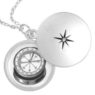 Viktorianisches Kompass-Zeichnen Selbst Gestalteter Schmuck