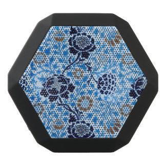 Viktorianisches Muster im Blau Schwarze Bluetooth Lautsprecher