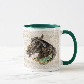 Viktorianisches Pferd Tasse