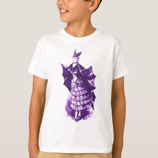 Viktorianisches Schläger-Kostüm (violettes) Ver. 1 T-Shirt