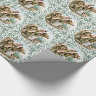 Viktorianisches Verpackungs-Papier - musikalische Geschenkpapier