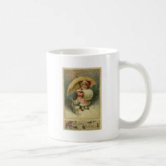 Viktorianisches Vintages Retro Kinder-und Kaffeetasse