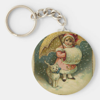 Viktorianisches Vintages Retro Kinder-und Schlüsselanhänger