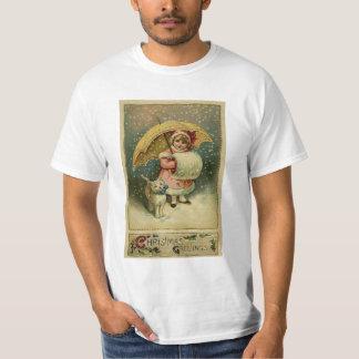 Viktorianisches Vintages Retro Kinder-und T-Shirt