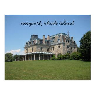 Villa Newports, Rhode Island Postkarte