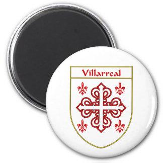 Villarreal-Wappen/Familienwappen Runder Magnet 5,7 Cm